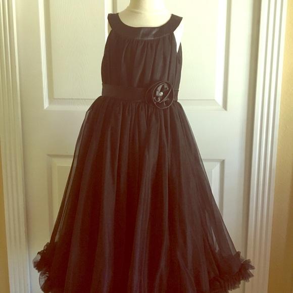 Dresses | Oopsy Daisy Baby Black Pettidress | Poshmark